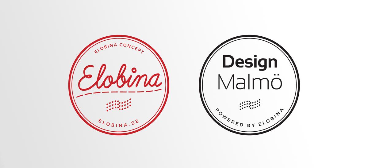 Logotyp design för två inriktningar