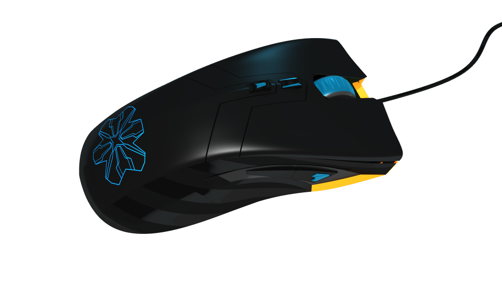 Game mouse Kuiper base model HQ