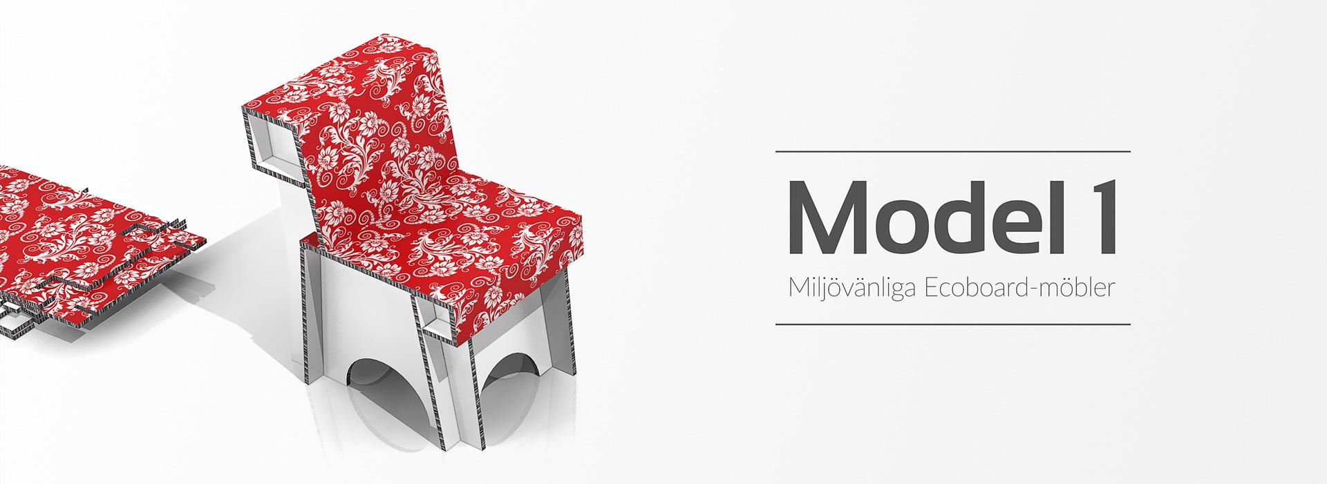 Tillverkning av pappmöbler för marknadsföring